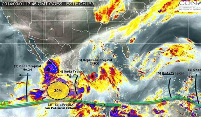 tormenta tropical Dolly