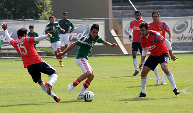 CHIVAS VS SUB20 EN EL CAR